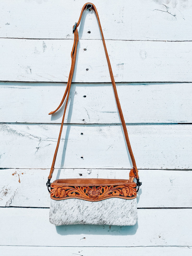 Small Cowhide Crossbody
