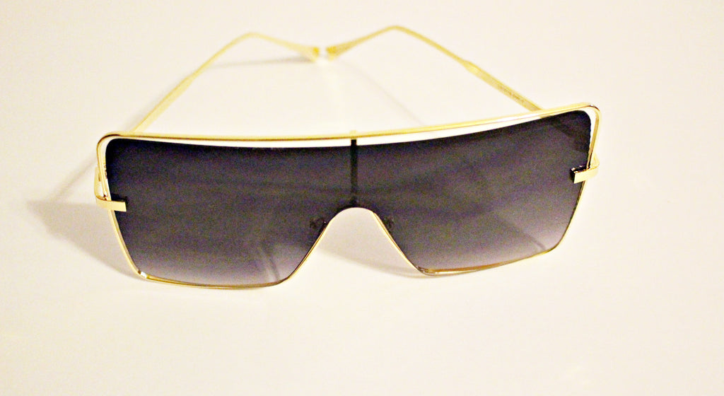 Gold Trim Sunglasses