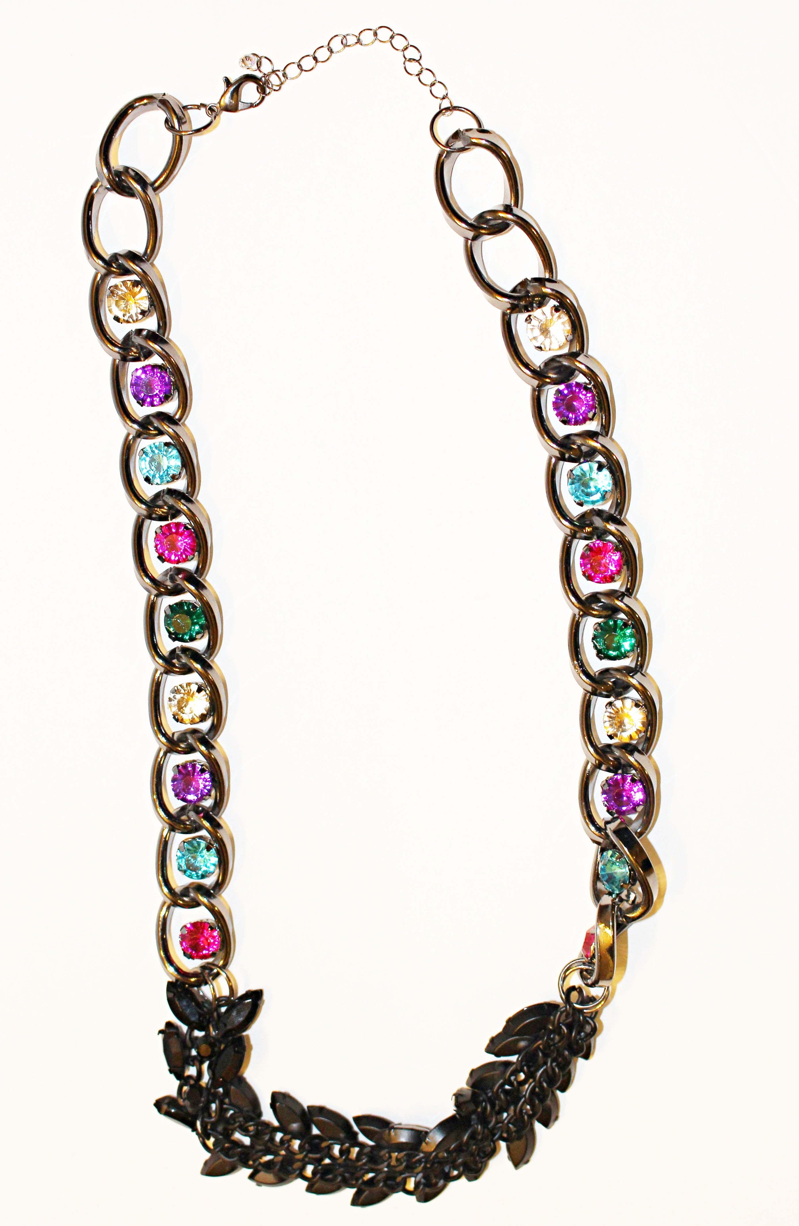 Colorful Studded Necklace