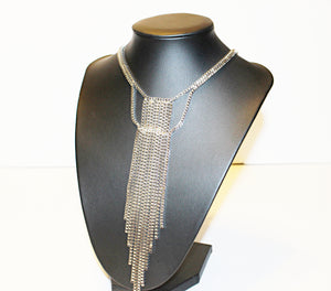 Sliver Necktie Necklace