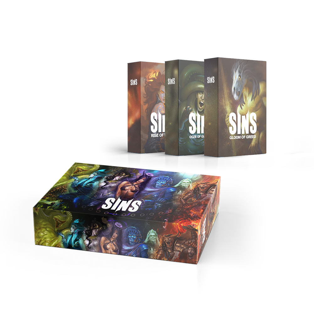 SINS: Trilogy Collector Box