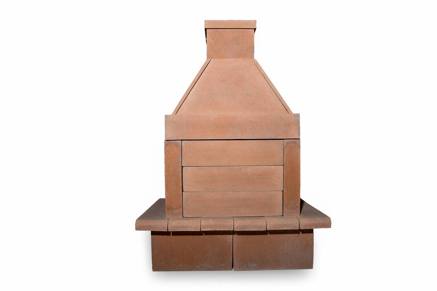 BBQ Outdoor Fireplace Kit-Copper