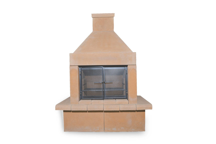 BBQ Outdoor Fireplace Kit-SandStone