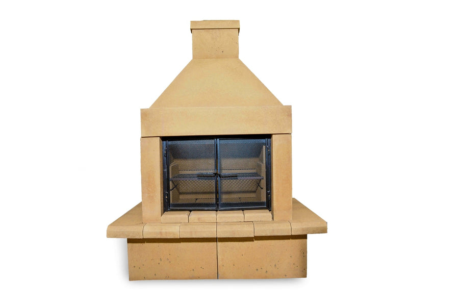 BBQ Outdoor Fireplace Kit-Tan