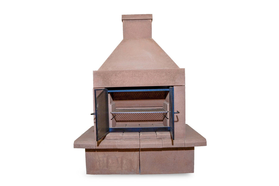 BBQ Outdoor Fireplace Kit-Taupe