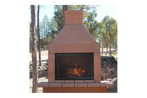BBQ Outdoor Fireplace Kit