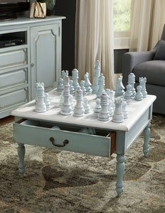 bramble furniture chess set cocktail table