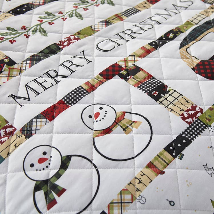 Merry Vacation Patchwork Quilt