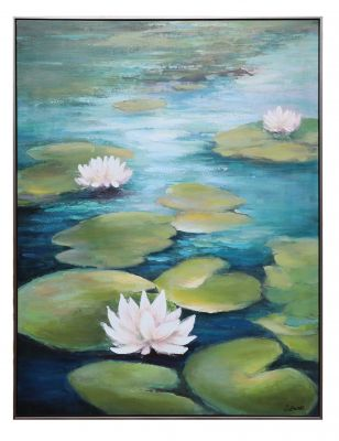 Lily Pads Wall Print