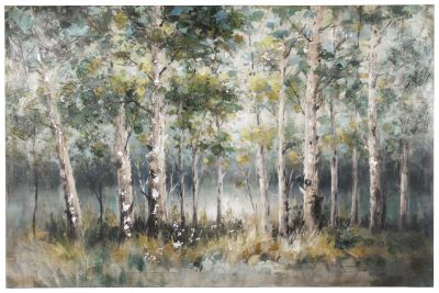 Quiet Retreat Trees Wall Art