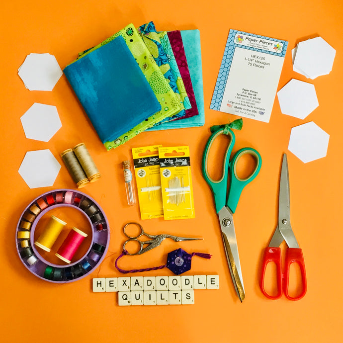 002 Tools and Materials for English Paper Piecing (EPP)