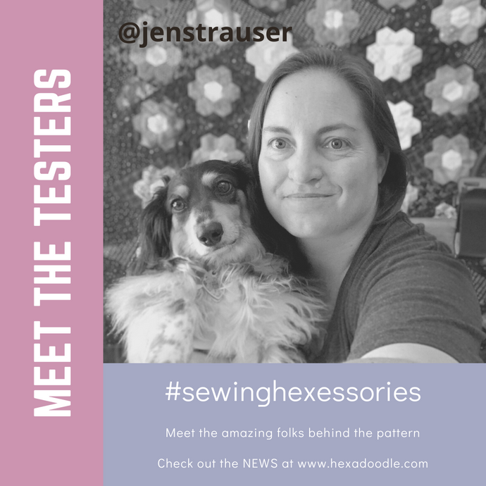 Meet the Tester - Jen Strauser a.k.a. The Dizzy Quilter