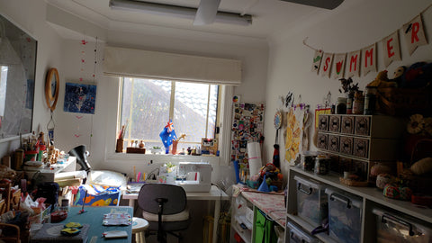 image of becky peters workspace