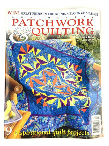 Cover of Australian Patchwork & Quilting Vol.5 No.4