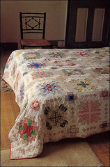 Picture of Lucy Boston Patchwork of the Crosses quilt at Greenhowe Manor
