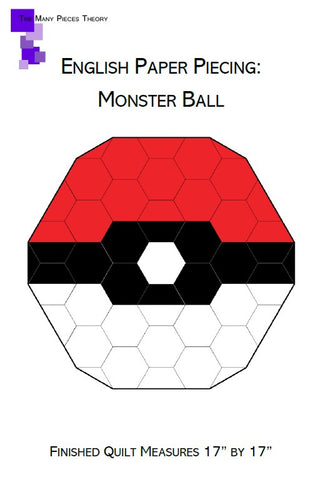 Picture of Monster Ball EPP Pattern Cover
