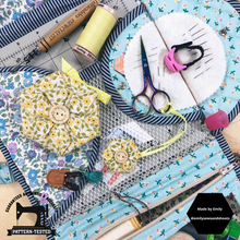 Load image into Gallery viewer, Sewing Hex-essories (Accessories) PDF Quilt Pattern