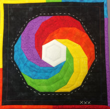 Load image into Gallery viewer, Vortex EPP Printed PAPER Quilt Pattern