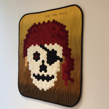 Load image into Gallery viewer, Skull Pirate EPP Hexagon Quilt Chart PDF Pattern