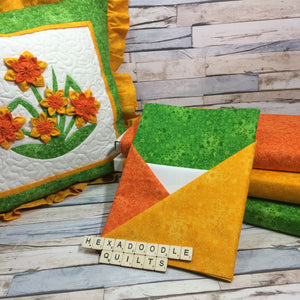Spring Daffodils Complete Mini Quilt Kit