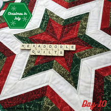 Load image into Gallery viewer, Fractured Star - FPP Quilt Block - PDF Pattern