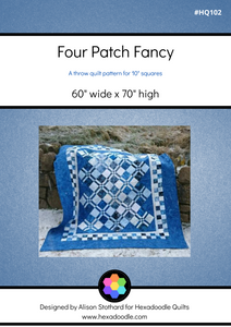 Four Patch Fancy PDF Quilt Pattern