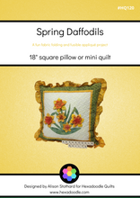 Load image into Gallery viewer, Spring Daffodils PDF Quilt Pattern