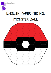 Monster Ball EPP PDF Quilt Pattern