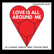 Load image into Gallery viewer, Love is All Around Me Paper Pieces