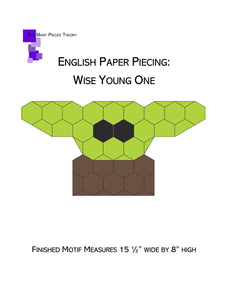 Wise Young One EPP PDF Quilt Pattern