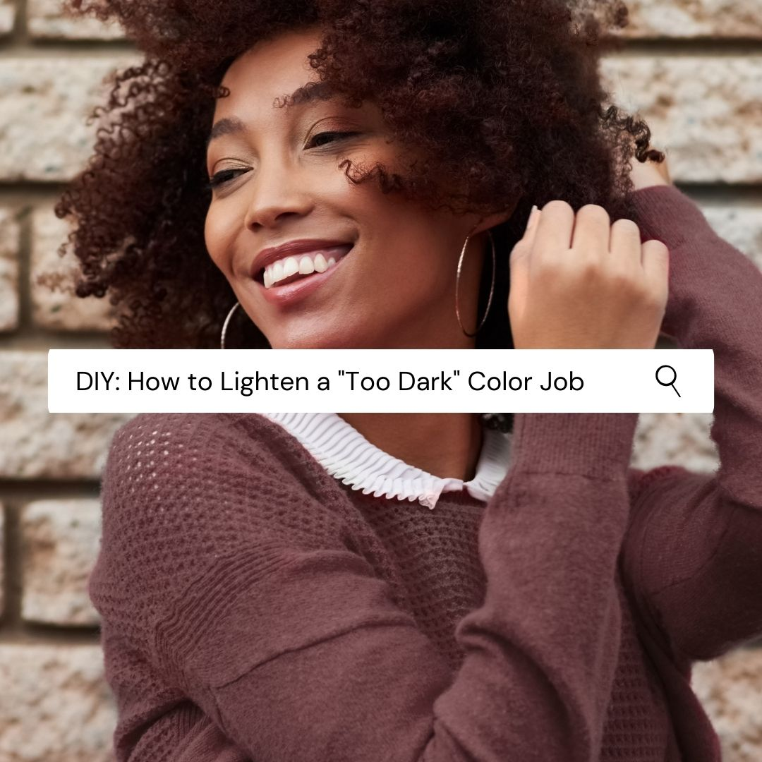 DIY: How to Lighten a