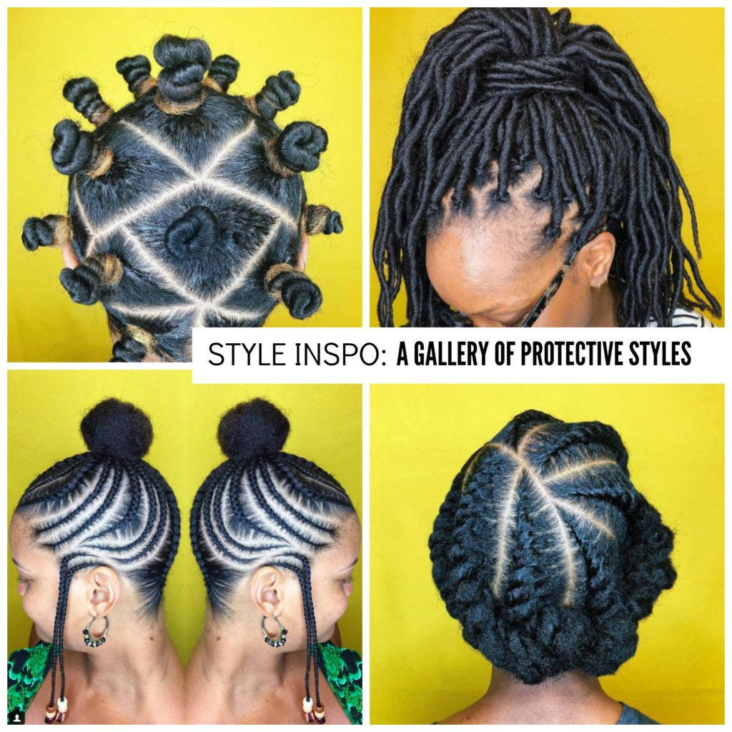 A Gallery Of Protective Styles You Can Try At Home