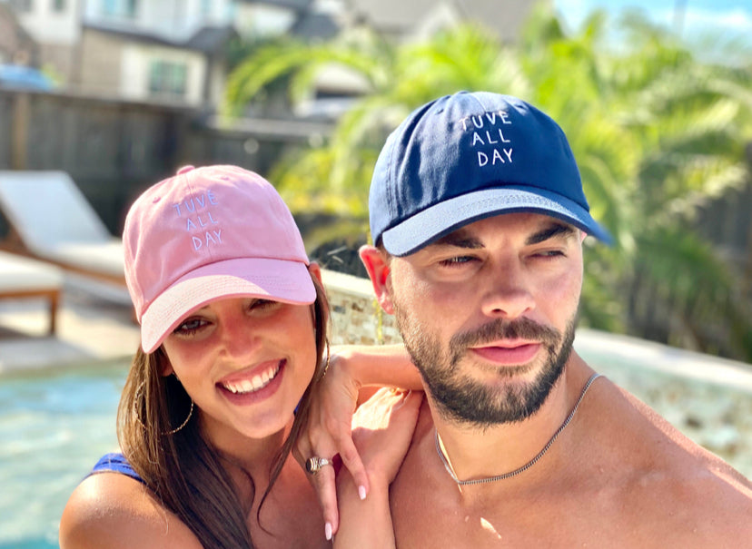 TUVE ALL DAY Adjustable Dad Hat (Local)