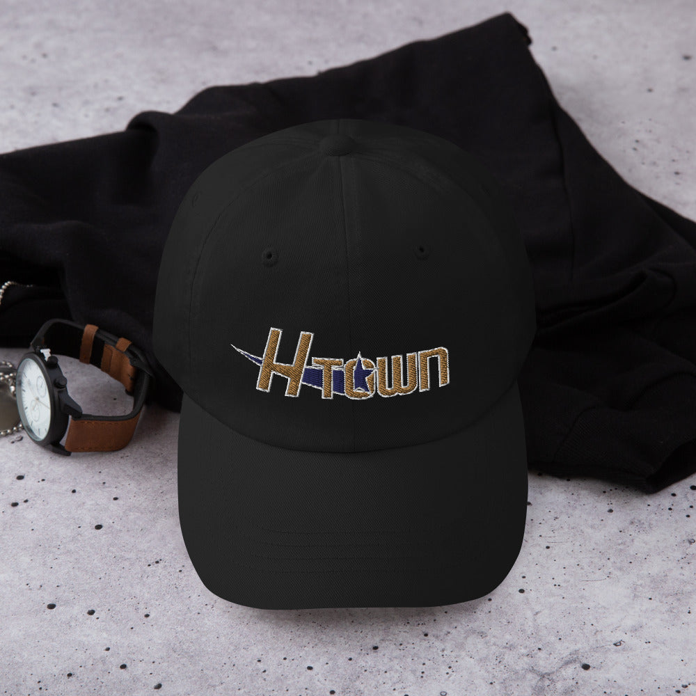 H-Town 90s Dad hat