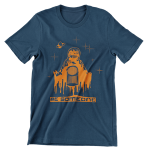 Be Spaceman Navy Unisex T-Shirt (Local)