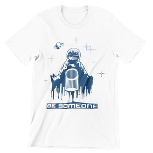Be Spaceman White Unisex Shirt (Local)