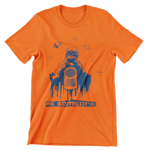 Be Spaceman Orange Unisex Shirt (Local)