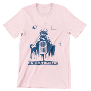 Be Spaceman Pink Unisex Shirt (Local)
