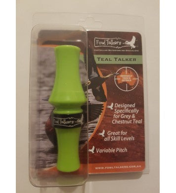 Fowl Talkers Teal Talker Duck Call | Green