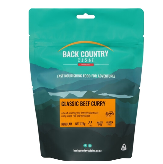 Back Country Cuisine Classic Beef Curry (Single Serve)
