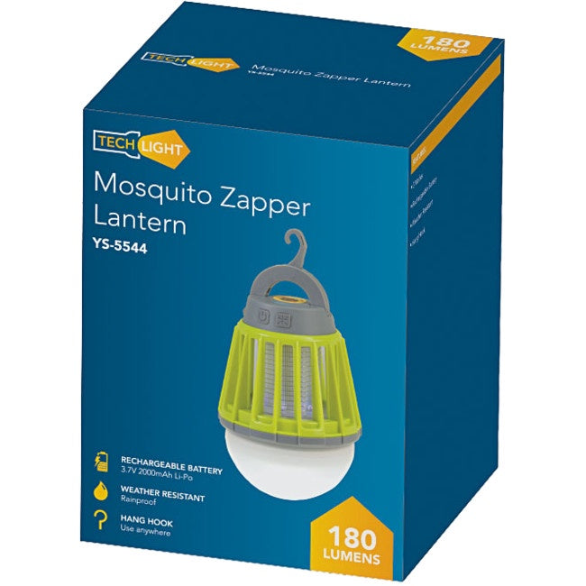 Mosquito Zapper With LED Lantern | 180 Lumen