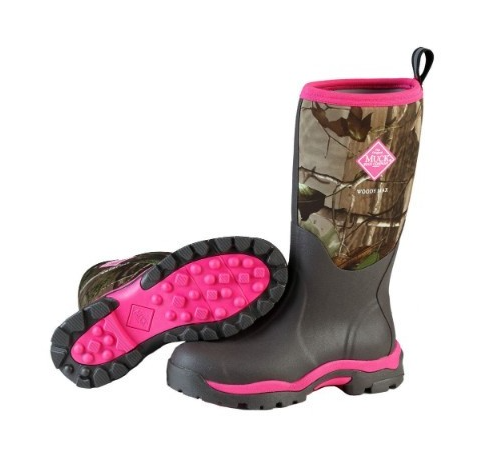 Muck Women's Woody Pk Boot Bark/Realtree