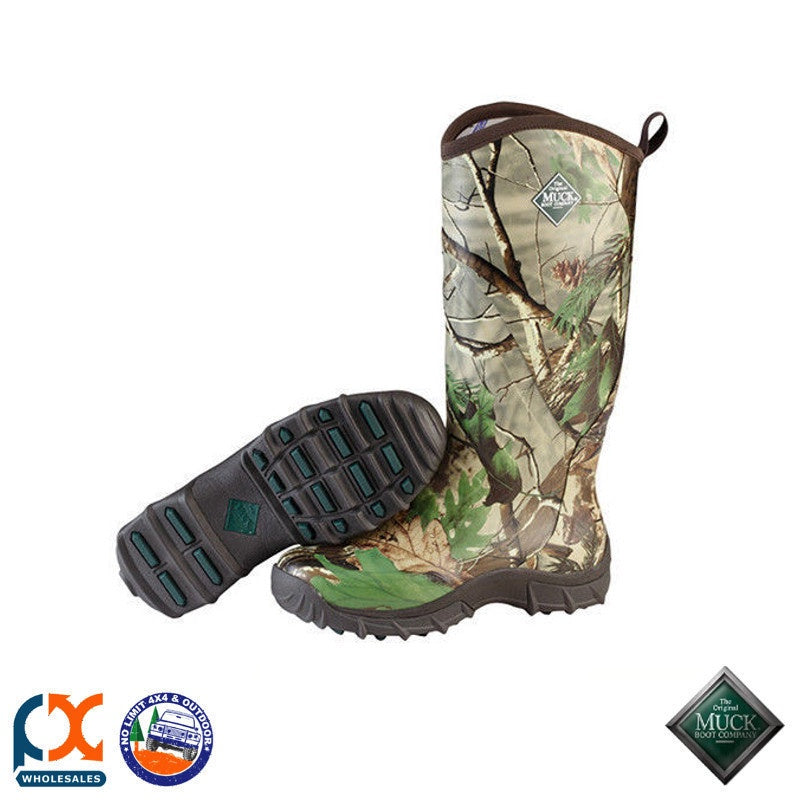 Muck Pursuit Snake Boot - RealTree