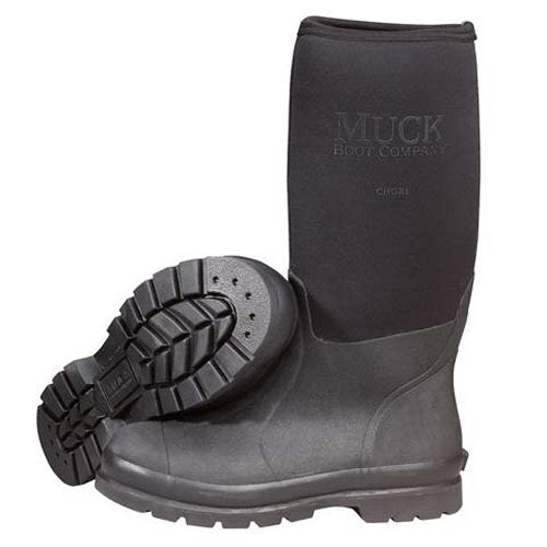 Muck Boot Chore Hi Work Boot - Black