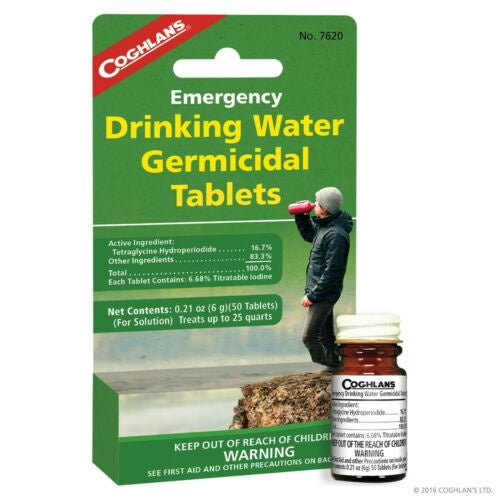 Coghlans Drinking Water Tablets | 7620