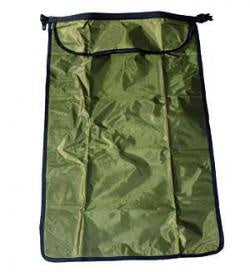 Dry Sack 20L Olive Ripstop with Clear Window