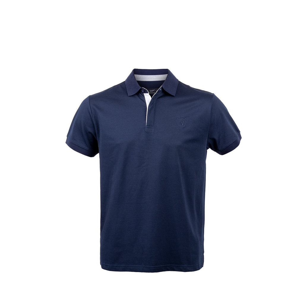 Hunters Element Stag Polo | Navy
