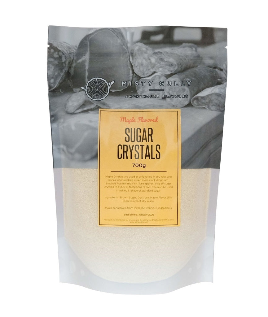 Misty Gully Maple Flavoured Sugar / Crystals (700g)
