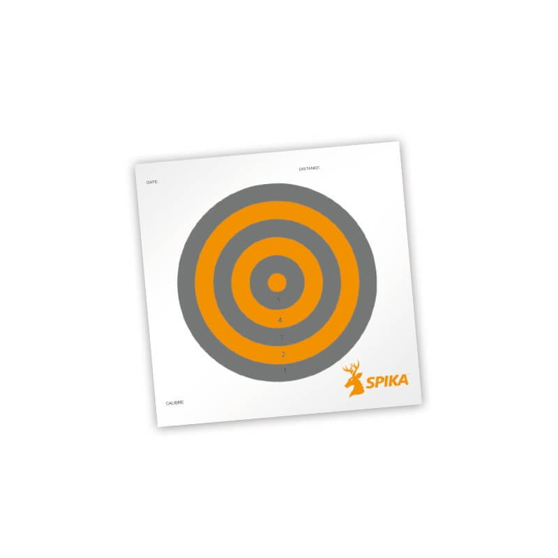 "Spika Paper Shooting Targets 8"" (20pk) 