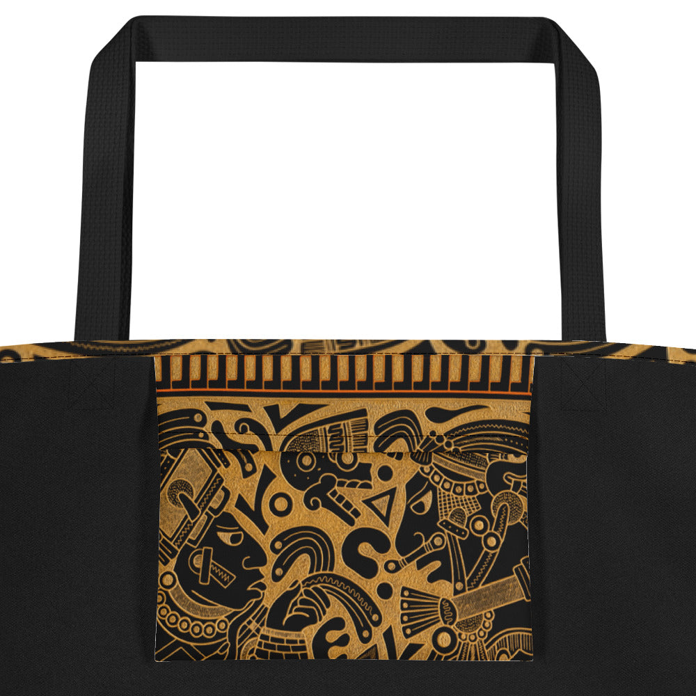 Ancient Wisdom Beach Bag